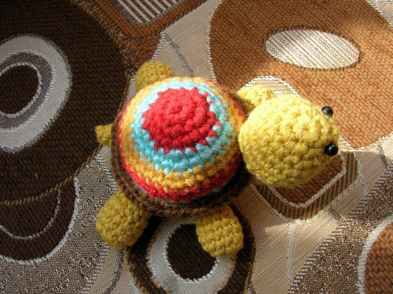 Амигуруми Веселая черепашка