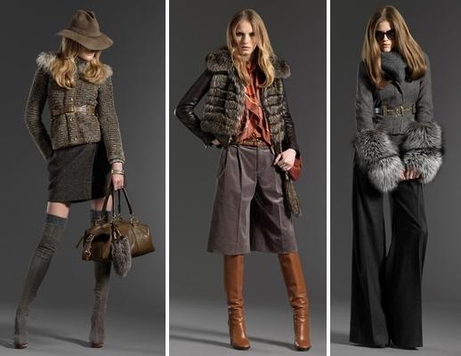 мода зима 2012 куртки