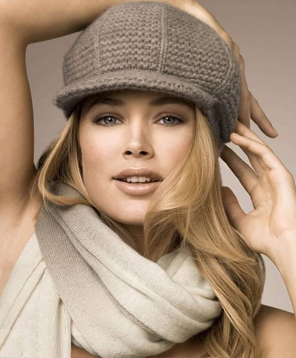 Модные кепки вязание