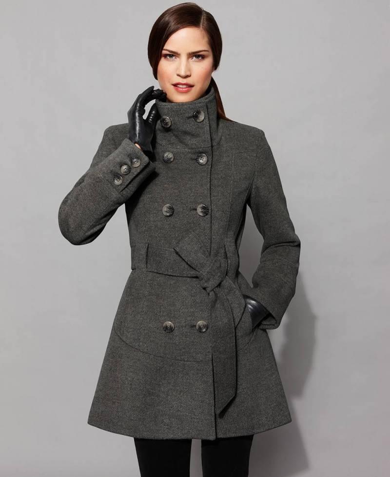Модные пальто 2012 элегантно тепло и