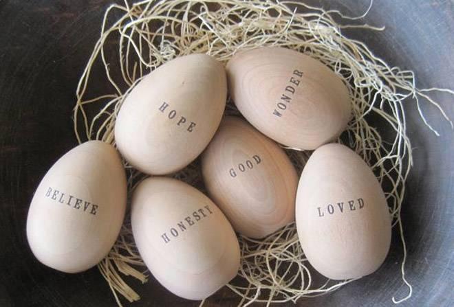 Пасхальные яйца: 10 новых решений в их декоре