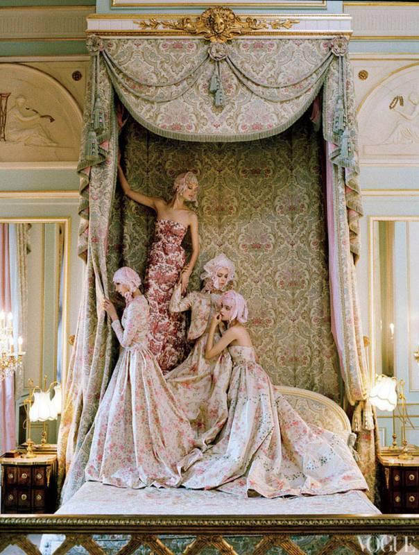 Кейт Мосс в апрельском номере американского Vogue
