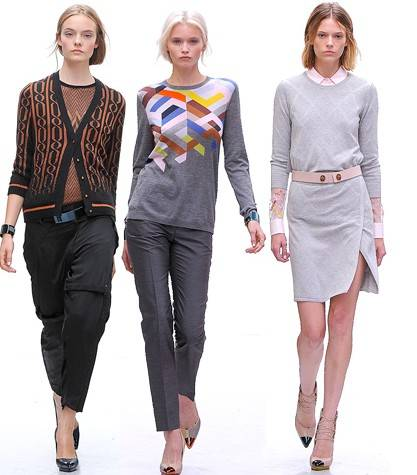 Трикотажная мода весна-лето 2012