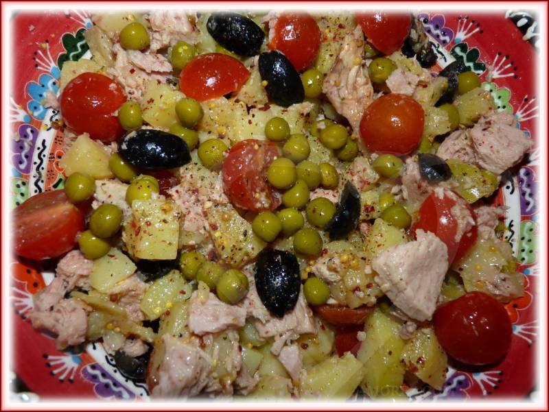 рецепты салатов с винным уксусом
