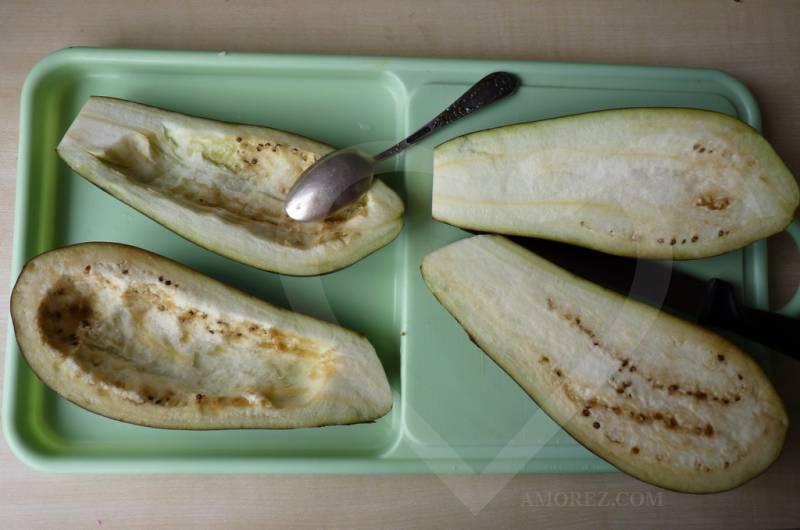 Горячая закуска «Лодочки». Рецепт для кабачков или баклажанов