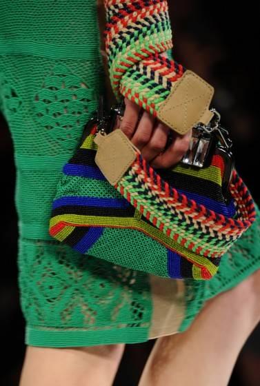 Плетеные сумки - универсальный тренд лета 2012