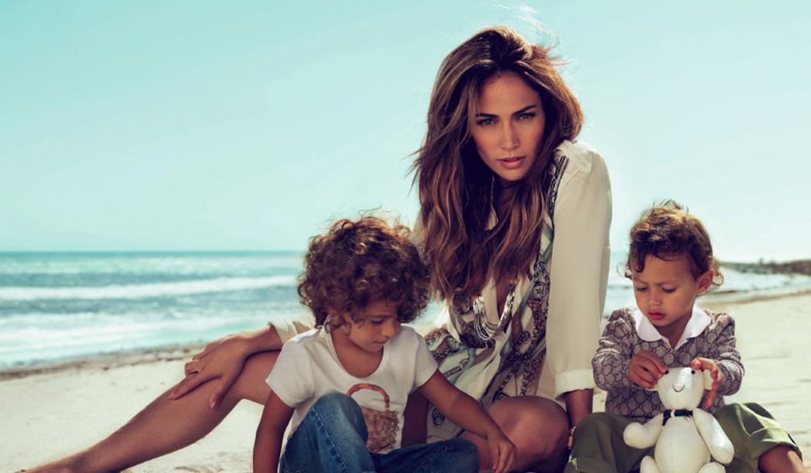 Дженнифер Лопес (Jennifer Lopez) с близнецами Максом и Эмми