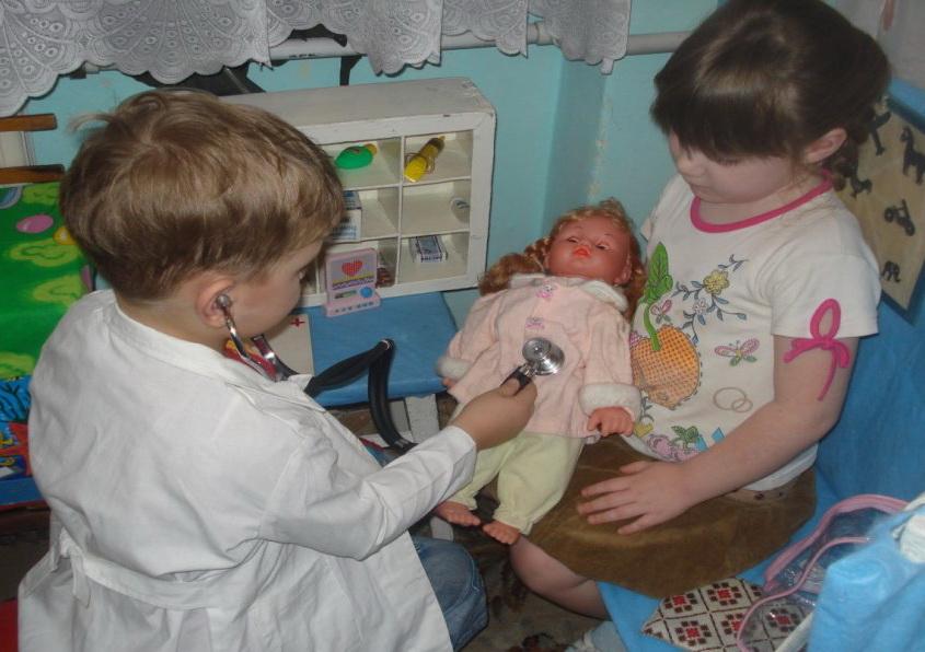 Если ребёнок боится врачей