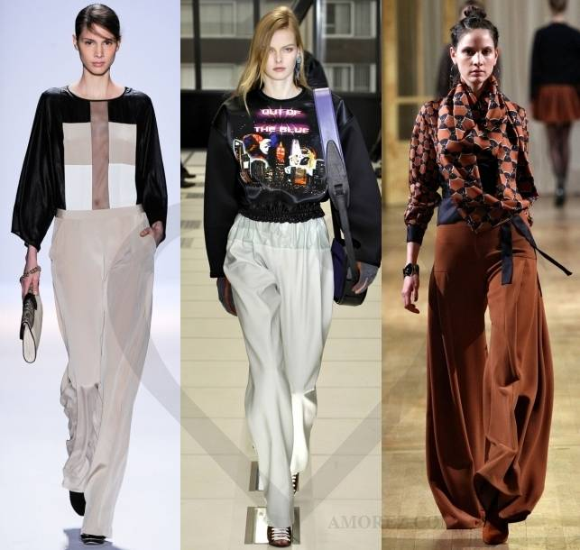 Модные юбка брюки