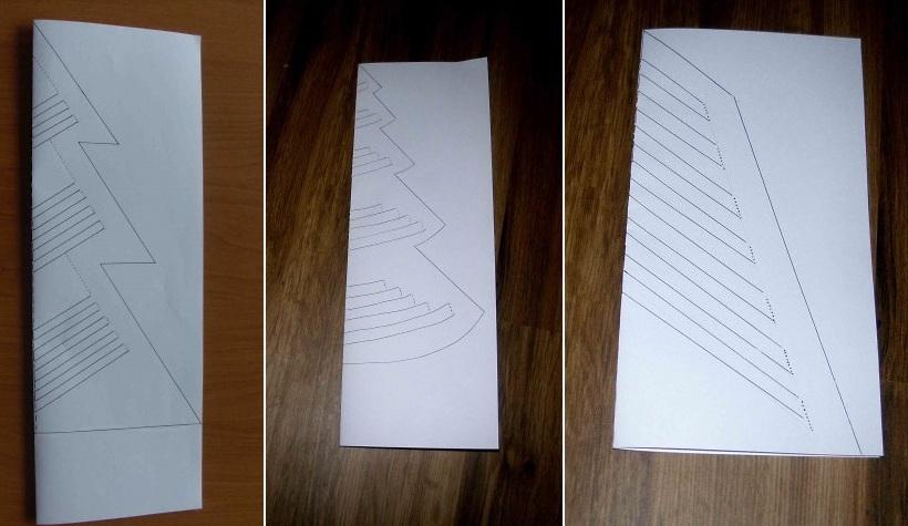 Новогодние рукоделия из бумаги