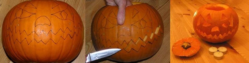 Как сделать тыкву к halloween