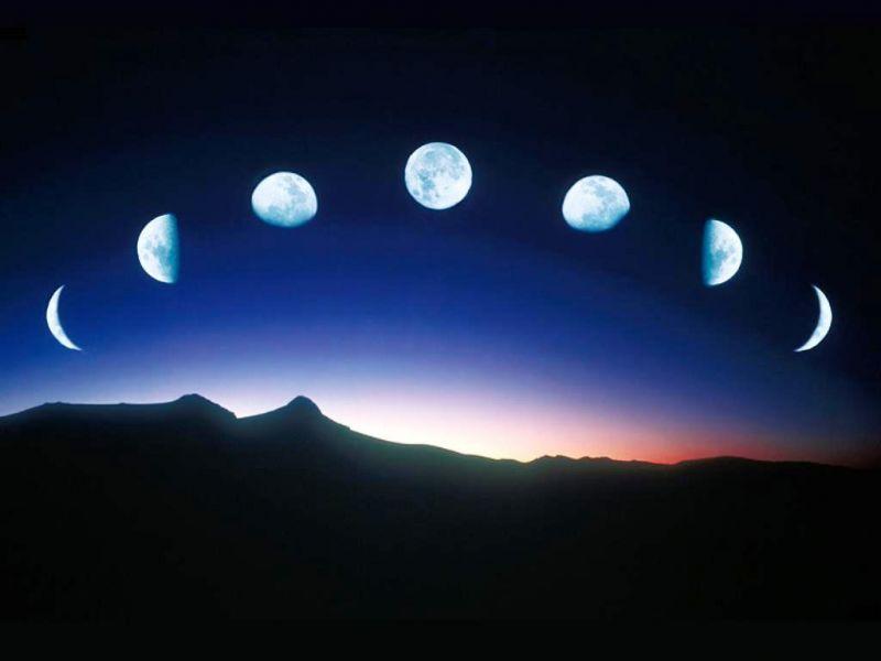 Фазы Луны и их влияние на человека