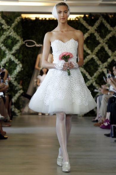 Свадебная коллекция от Oscar de la Renta весна 2013
