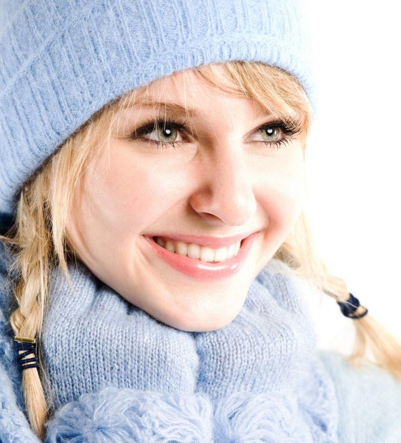 Как защитить кожу лица в зимнее время