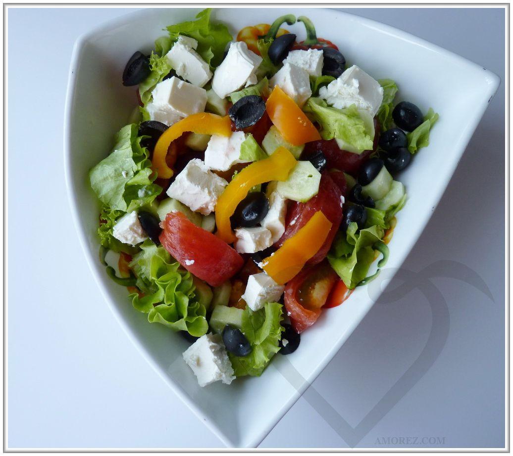 Салат частями