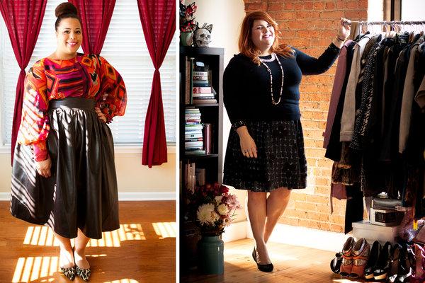 Особенности одежды для полных женщин