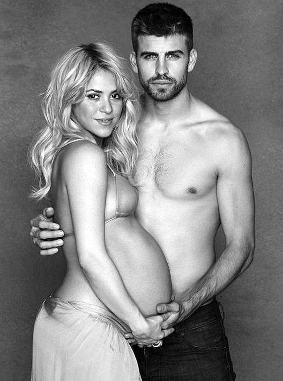 Шакира родила первенца