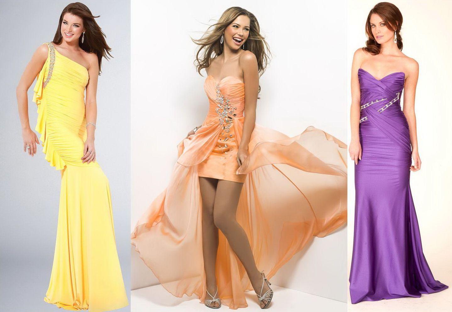 Платья на выпускной 2013 самые