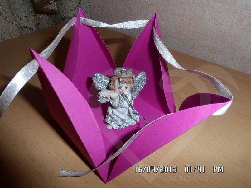 Подарочная коробка своими руками мастер класс