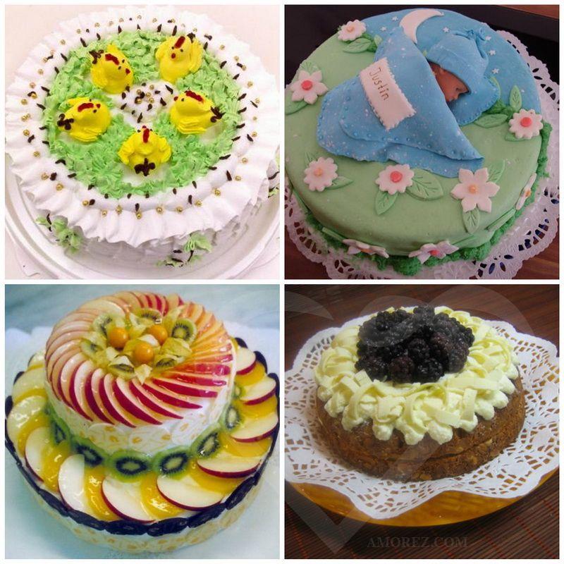 Чем красиво украсить торт в домашних условиях в фото 497