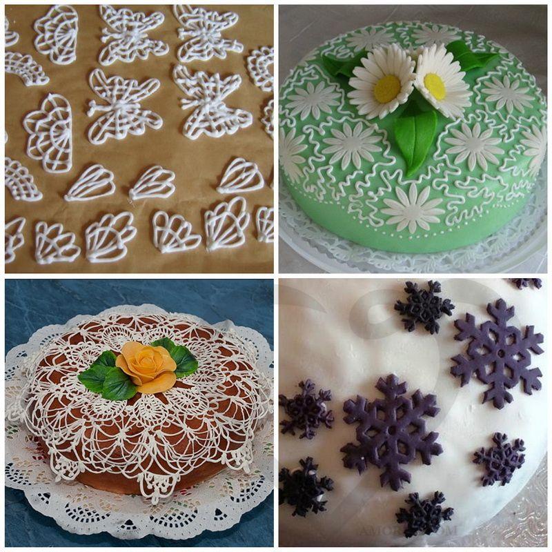 Украсить торт рецепт своими руками 433