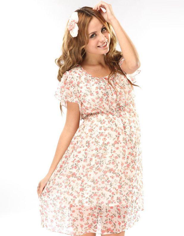 Как сшить летнее платья для беременных 304