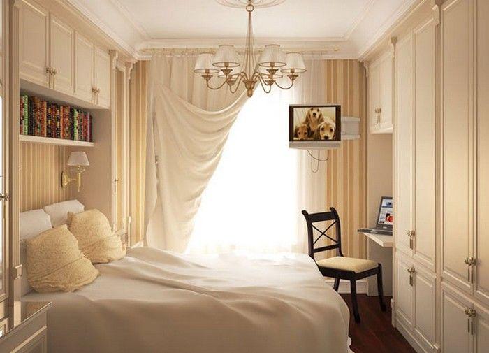 Как сделать уютной маленькую спальню для женщины?