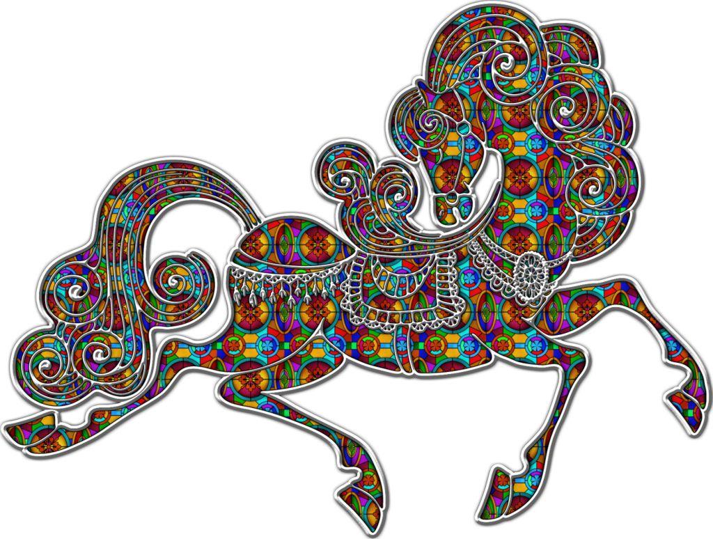 Как встречать новый год 2014 синей Лошади