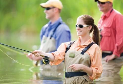 Женщина рыболов. Миф или реальность?