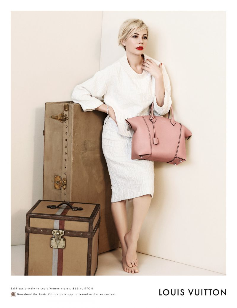 Мишель Уильямс (Michelle Williams) для Louis Vuitton
