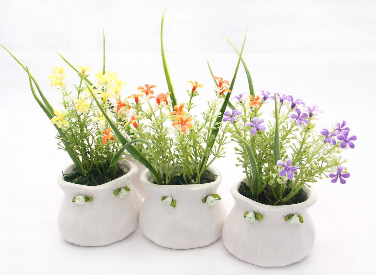 Распродажа Искусственные Цветы В Горшках - товары со 14
