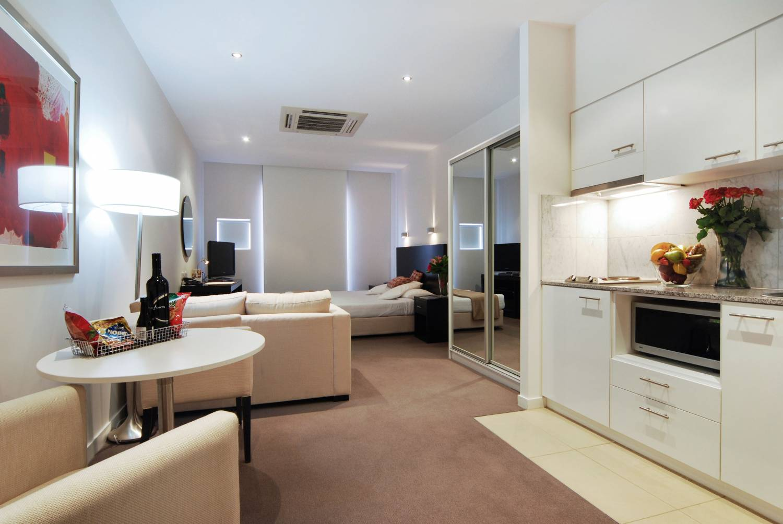 Проект дизайн квартиры студии