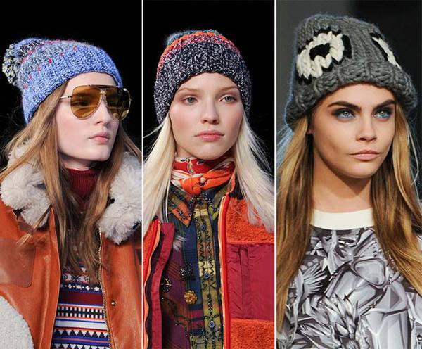модные шапки сезона осень/зима 2014-2015