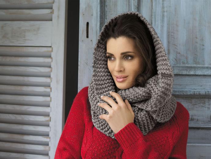 модные зимние шарфы 2014-2015