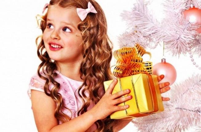Новогодние прически для девочек. Фото